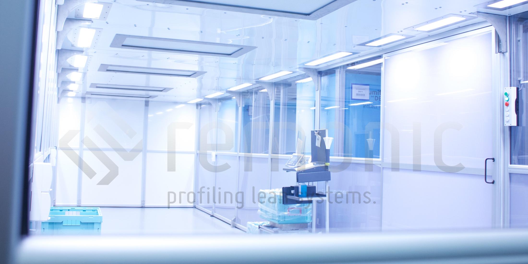 Das Know-how im Bereich der Reinraumtechnik liegt nicht nur in der Gestaltung des Reinraums selbst, vielmehr auch in der Flexibilität und der Anpassungsmöglichkeit an Ihre Produktionsverhältnisse.