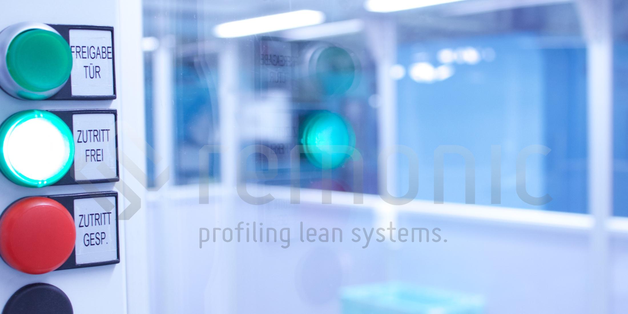 remonic bietet modulare Reinraumaufbauten und Schleusensysteme um Kontamination zu verhindern. unsere Reinraumtechnik ist revolutionär.