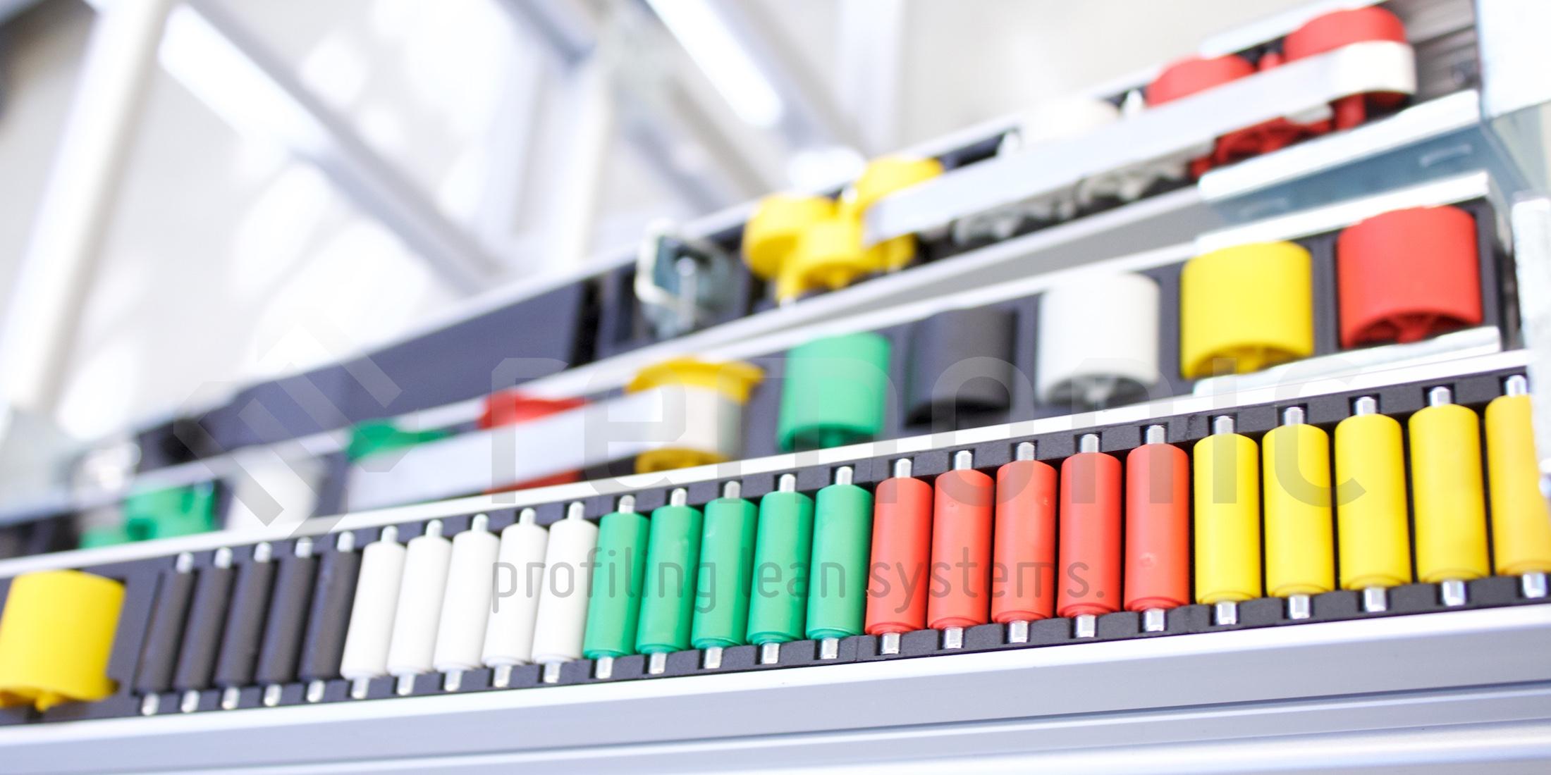 remonic® bietet flexible Systeme für Ihre flexiblen Produkte im Bereich der Regalsysteme und anderer Zuführeinrichtungen. Fragen Sie uns nach einer Lösung für Ihr Regal.