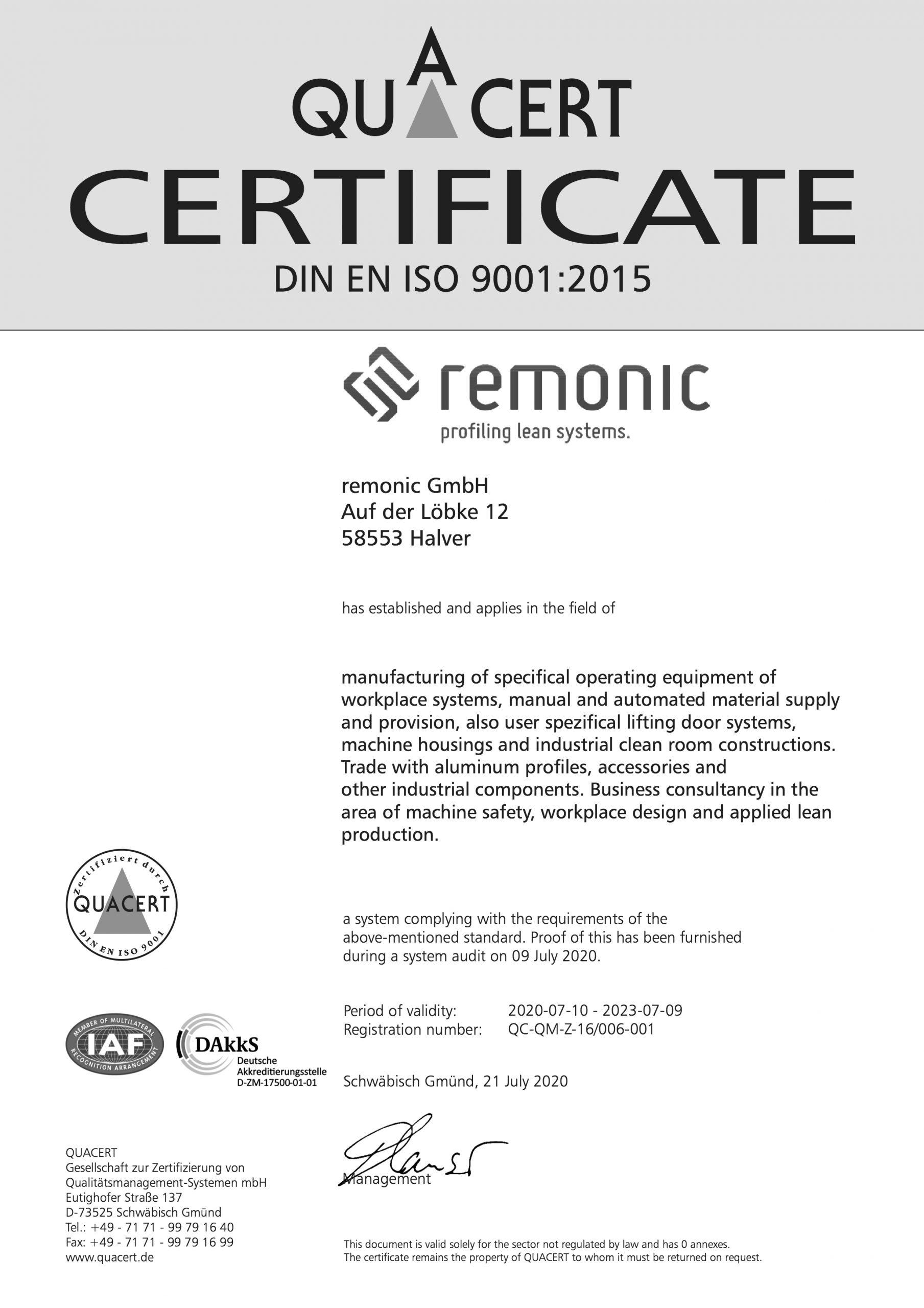 Unser Partner, die remonic GmbH